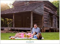 Engagement pictures @ Anne Springs Greenway in Fort Mill, SC