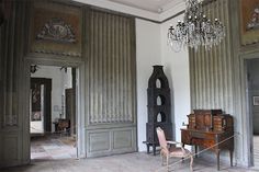 Danish Interior, Danish Style, Slot, Manor Houses, Curtains, Google, Home Decor, Blinds, Decoration Home