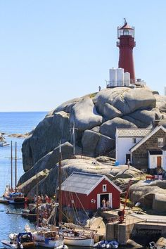 Travel Inspiration for Norway - Svenner Lighthouse, Larvik, Norway