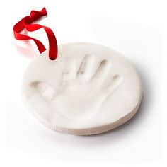 Baby's First Christmas Handprint Ornament Kit, , large