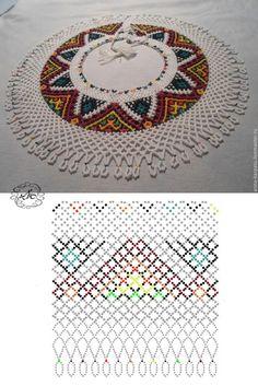 Error - Her Crochet Beading Patterns Free, Beading Tutorials, Beading Projects, Diy Necklace Patterns, Beaded Jewelry Patterns, Beaded Crafts, Beading Techniques, Beaded Collar, Bead Jewellery