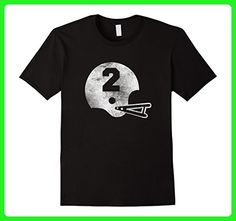Mens Vintage Football Jersey Number 2 T-Shirt Player Number 3XL Black - Sports shirts (*Amazon Partner-Link)
