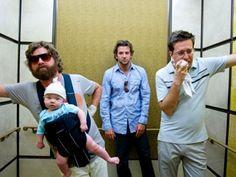 Lendemain de veille / The Hangover (2009-2013) : Bradley Cooper, Zach Galifianakis, Ed Helms, Justin Bartha