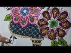 [Puntada Fantasía] Canasta de Soles   Bordados con Isa - YouTube