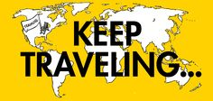 keep traveling... #justaway #travel #quote #reisen #urlaub