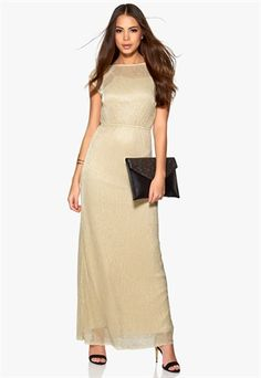 VERO MODA Erica Long Dress Oatmeal