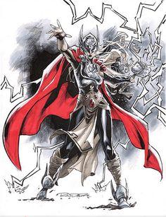 "comic-book-ladies: ""Thor by Khary Randolph """