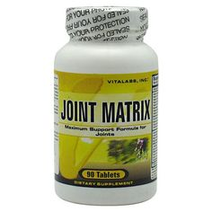 Vitalabs Joint Matrix - 90 tablets #SkinCare #AntiAging #Sports #Supplements #Fitness #BodyFitness #BodyBuilding