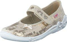 Superfit - Belinda Gold Vans Classic Slip On, Sneakers, Gold, Kids, Shoes, Fashion, Tennis, Young Children, Moda