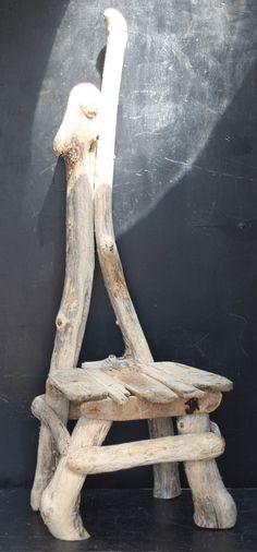 Driftwood Chair, Driftwood Seat, Driftwood Garden Chair, Drift wood Garden,140cm £245.00