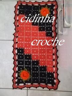 Croche -Tapete Chiquetoso2- Passo A Passo- Parte 2 Final