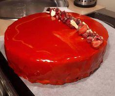 Lustrzana glazura (polewa) do deserów i tortów | Moje Wypieki