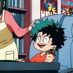 Excited little Izuku (☆^O^☆)  shared by ISΔΔC βΔΣZ