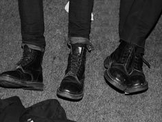 Mike - Stereotypical punk fashion boots.