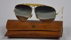 91688d7051 VINTAGE EARLY B amp L RAY BAN SHOOTER AVIATOR SUNGLASSES - 62mm  BauschLomb   Aviator