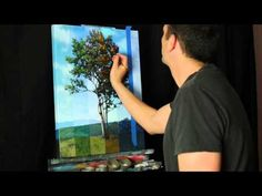 Time Lapse Surreal Landscape Tree Painting by Tim Gagnon, Acrylic on canvas Oil Painting Lessons, Painting Videos, Painting Tutorials, Acrylic Art, Acrylic Paintings, Photoshop Brushes, Surreal Art, Pictures To Paint, Art Techniques