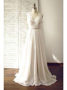 A-Linie Hochzeitskleid - Schick