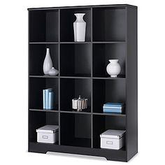 """Realspace® Magellan 12-Cube Bookcase, 63 9/16""""H x 46 1/10""""W x 15 3/5""""D, Espresso"""
