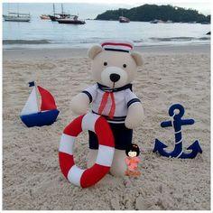 Ursinho Marinheiro! ⛵⚓ Personalize já o seu: www.kekah.com.br . . . #ursinho #ursos #marinheiro #bear #decor #decoracao #decoracaofesta #festainfantil #decoracafestainfantil #decoracaocriativa #decoracaopersonalizada #maefesteira #fazendoafesta #festapersonalizada #decoracaoquartodebebe #baby #babygirl #babyboy #maedemenino #maedemenina #maedeprimeiraviagem #maecoruja #chadebebe #newborn #barco #ancora #mar #praia #beach #kekahatelie