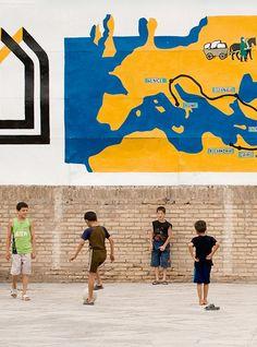 dreaming europe...plyaing in uzbekistan
