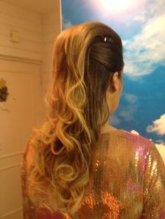 Hair style, wedding guest