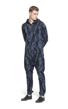 @onepiece Abyss Jumpsuit Ebony Printed