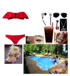 """""""Pool Side"""" by missprecious2001 ❤ liked on Polyvore featuring Lisa Marie Fernandez, Calvin Klein and 2Me Style"""
