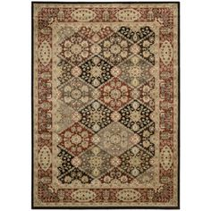 "Nourison Ancient Tapestry Machine Woven Rug, Multi-Color, 7'9"" x 10'10"""