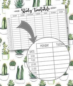 For more FREE student templates, printables organization hacks like this one, visit www. Study Timetable Template, Study Schedule Template, Planner Template, Essay Planner, Study Planner, Table Planner, School Schedule, School Planner, Life Hacks For School