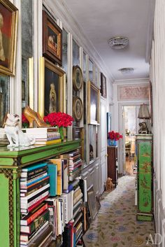 Visiting style icon Iris Apfel in her New York Apartment.