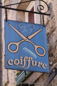 Beauty Salon Sign in England