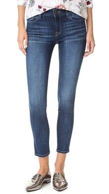 Rag & Bone/JEAN High Rise Skinny Zipper Crop Jeans | SHOPBOP