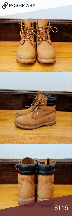 Timberland 6 Inch Waterproof Boat 73540 Boots Shoes Wheat Nubuck
