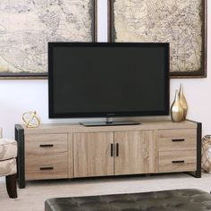 Modern Driftwood Gray 70 Inch TV Stand | RC Willey Furniture Store