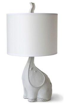Elephant lamp! So cute!