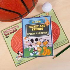 Mickey & Friends Sports Playbook