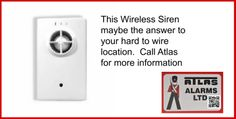 Wireless Siren Honeywell Security, Security Alarm