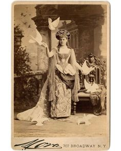 Quite a fetching costume in honor of tonight's Met Gala.   In 1883, Alva Belmont (known then as Alva Vanderbilt) hosted one of the most extravagant parties in New York City history, determined to impress (and out-do) New York's old-money socialite queen Caroline Schermerhorn Astor, who saw the Vanderbilt's nouveau riche railroad wealth as distasteful. But Alva Belmont's legacy is much bigger than outlandish balls—she was an active participant in the women's suffrage movement. A recent…