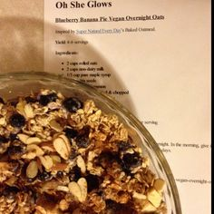 ... Pinterest   Vegan overnight oats, Overnight oats and Overnight oatmeal