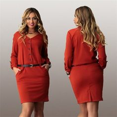 Business Casual Dress - Three colors Size 14W- 22W