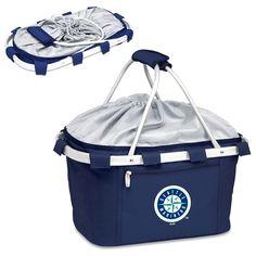 Seattle Mariners Metro Basket Collapsible Tote - Navy - $53.95