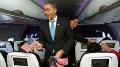 Obama and Romney impersonators help us kick off our new SFO-DCA service (via ABC News).