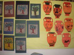 παιχνιδοκαμώματα στου νηπ/γειου τα δρώμενα: Αθηνά και Ποσειδώνας!!! Gallery Wall, School, Children, Blog, Crafts, Greek, Autumn, Education, Young Children