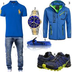 Blaues Herrenoutfit mit Armband & Uhr (m0701) #outfit #style #herrenmode #männermode #fashion #menswear #herren #männer #mode #menstyle #mensfashion #menswear #inspiration #cloth #ootd #herrenoutfit #männeroutfit