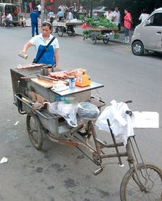 BikePortland.org » Blog Archive » Reader photos: Cargo bikes rule the streets of Beijing