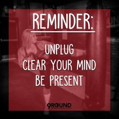 These days, it's nearly impossible to avoid the never-ending stream of emails, texts and push notifications but it's so important to take time to unplug and destress. 9Round workouts are a great way to spend 30 minutes to improve your physical health while, at the same time, improving your mental health.