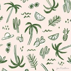 Jen B. Peters - Palm Springs Pattern /