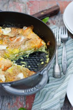 Zucchini Blossom and Potato Quiche- Would love to cook with blossoms
