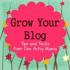 One Artsy Mama: Getting Started: Blog Design