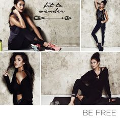 """Shay Mitchell's new athleisure collection, """"Fit to Wander,"""" will have you wanting to hit the gym ASAP as well as feeling good about yourself. Read all about it from the actress herself."""
